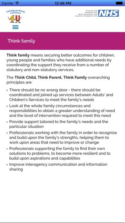 Safeguarding Children 4 U screenshot-4