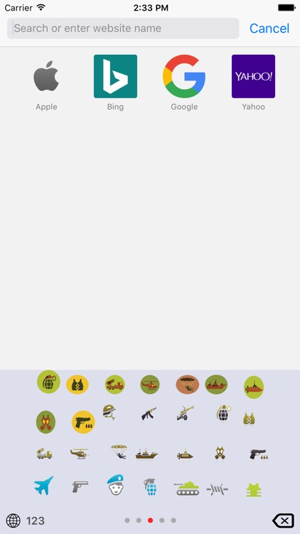 Military Emoji Keyboard screenshot-2
