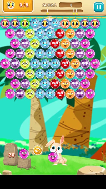 Bubble Shooter Bunny Adventure : Free Bubble Shooter Puzzle Game screenshot-3