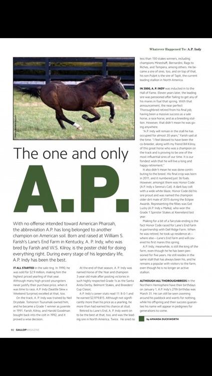 Gallop Magazine screenshot-4
