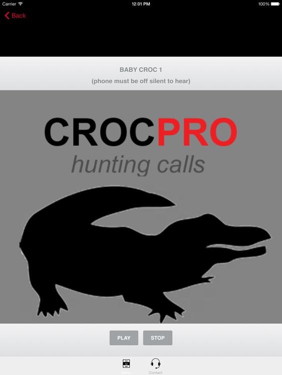 REAL Crocodile Calls & Crocodile Sounds! -- BLUETOOTH COMPATIBLE screenshot-3