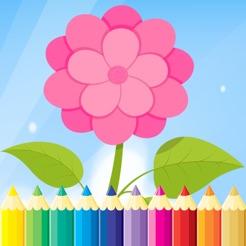 çiçek Boyama Kitap Için çocuk çizim Ve Dinlenme Stres Giderici
