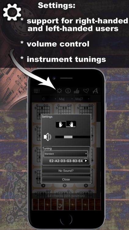 Guitar Chords Compass - learn the chord charts & play them screenshot-4