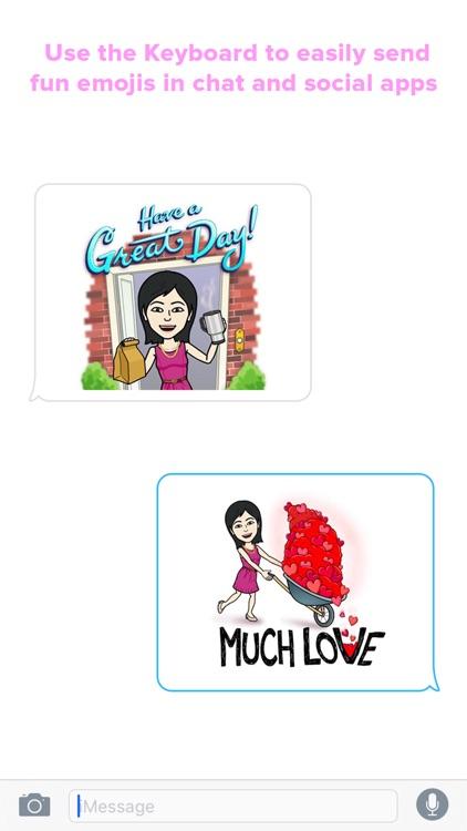 Girlmoji Keyboard - Emoji Keyboard for cute girls screenshot-4
