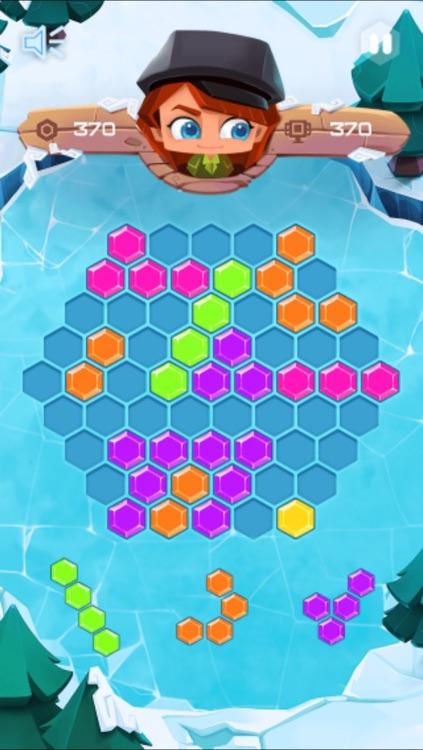 Hex Crush Block Fit Puzzle