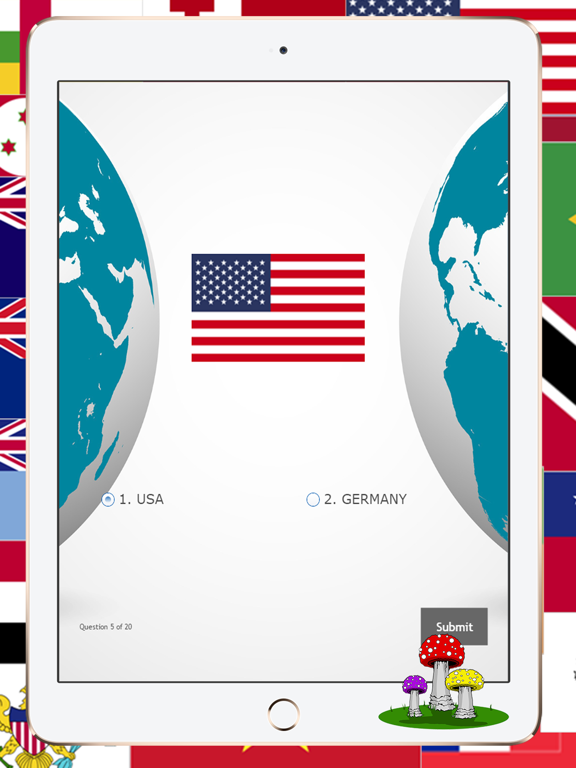 National Country Flags of The World Map Quiz | App Price Drops