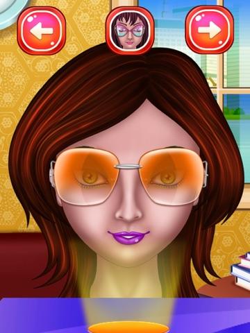 макияж глаз Салон красоты для девочек  макияж для девочек и детей ! для iPad