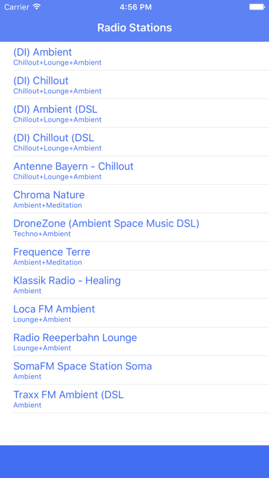 Radio Channel Ambient FM Online Streaming