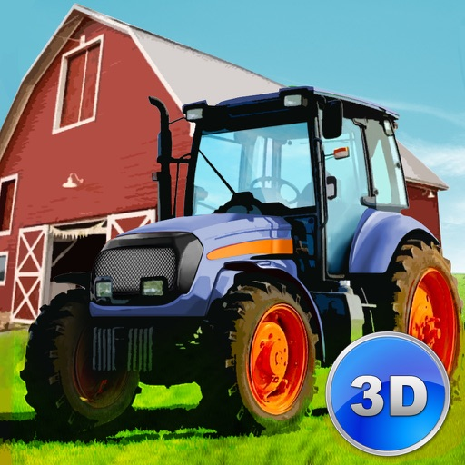 Farm Transport Simulator 3D - Drive vehicles, harvest hay! icon