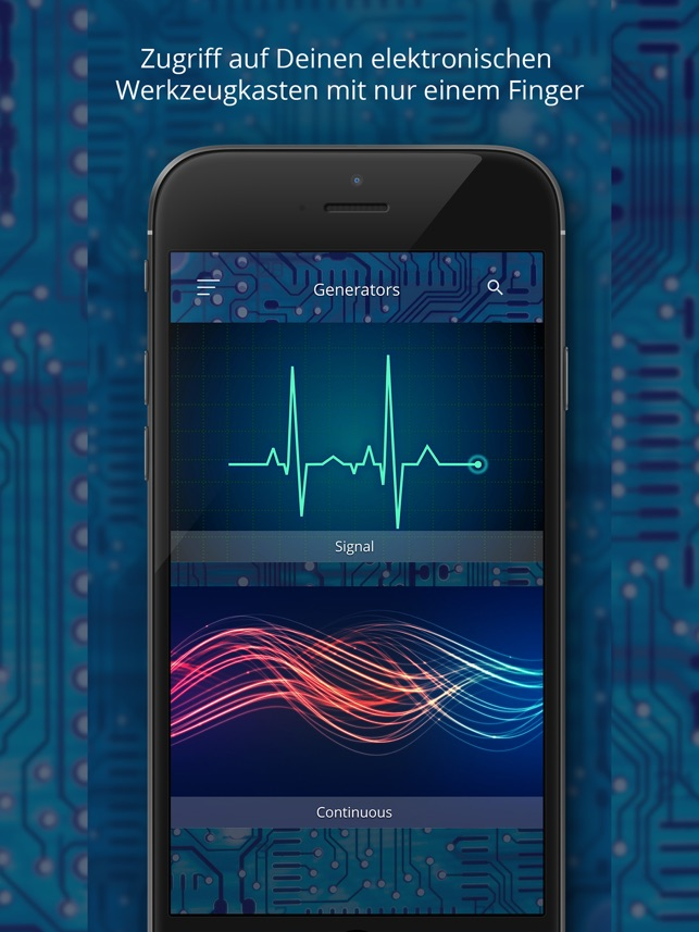 Electronic Lab Screenshot