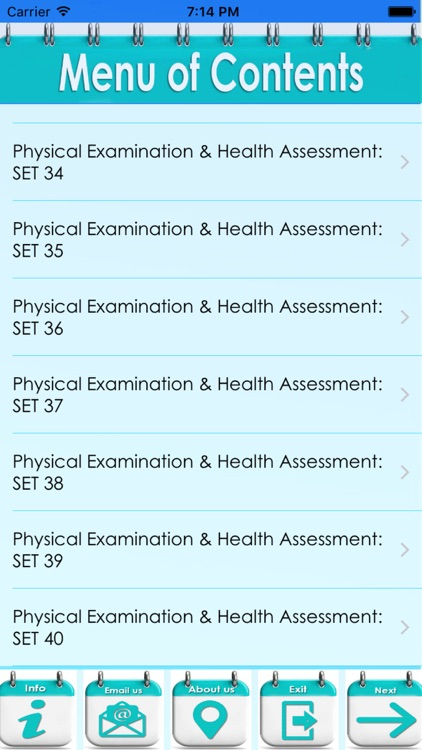 Physical Examination & Health Assessment: 3900 Flashcards screenshot-3