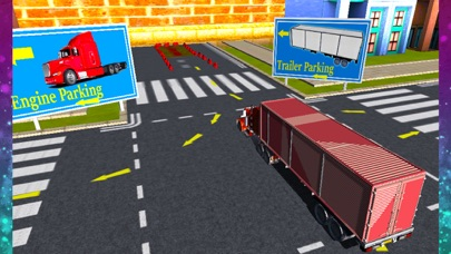 Truck Parking Simulator Crazy Trucker Driving Test