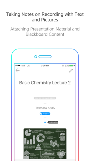 VONO for Lecture Recording and Lecture Notes Screenshot