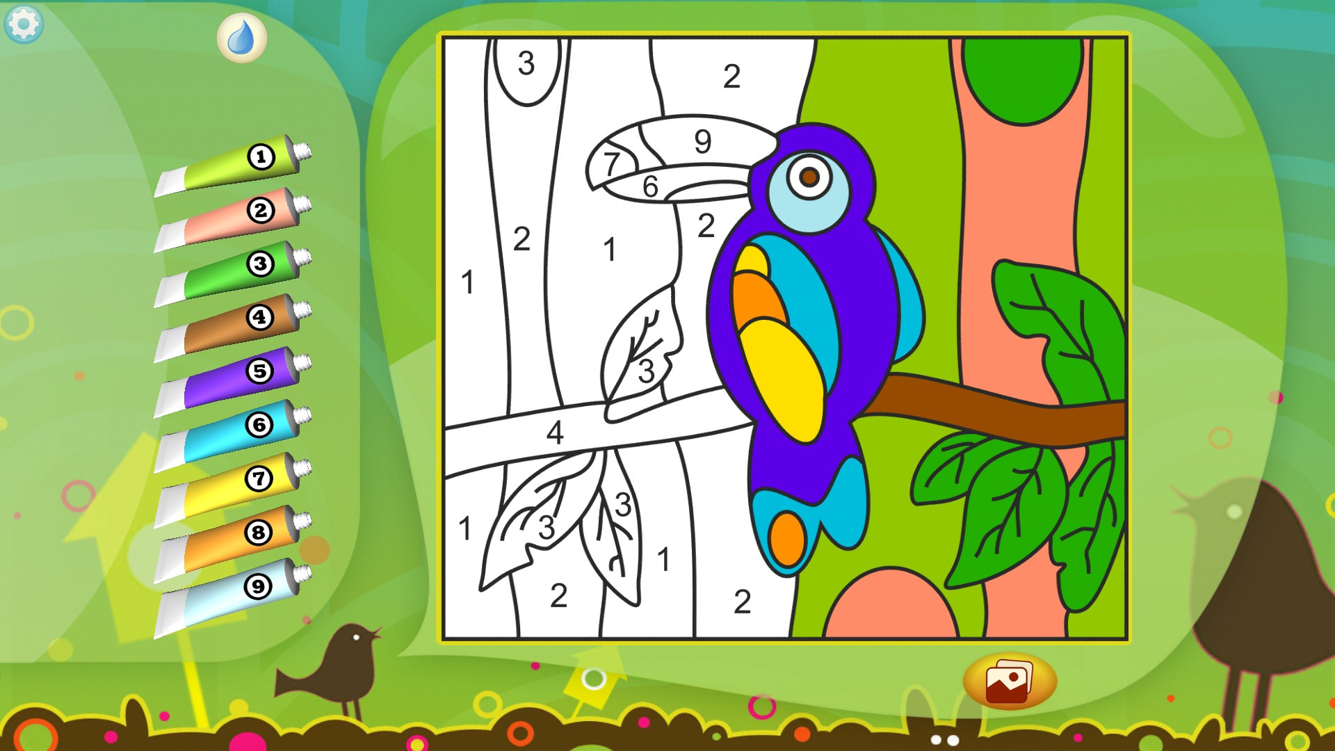 Color by Numbers - Animals screenshot 13