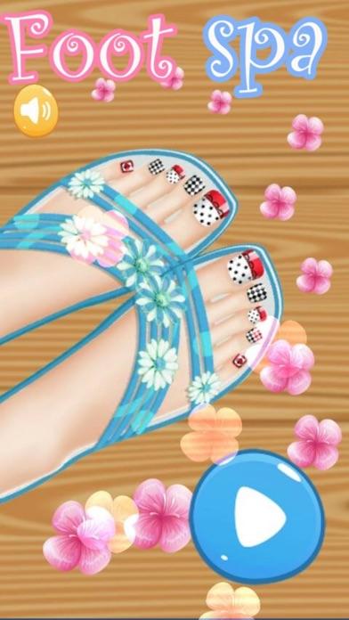 Foot Spa Salon - Kids Games Screenshot
