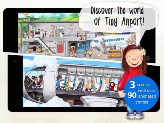 Tiny Airport: Toddler's App Screenshots