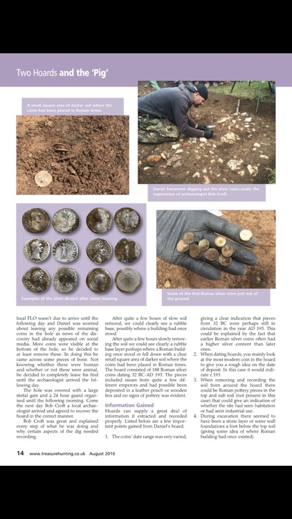 Treasure Hunting magazine screenshot-3