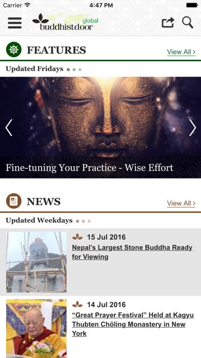 Buddhistdoor Global screenshot two