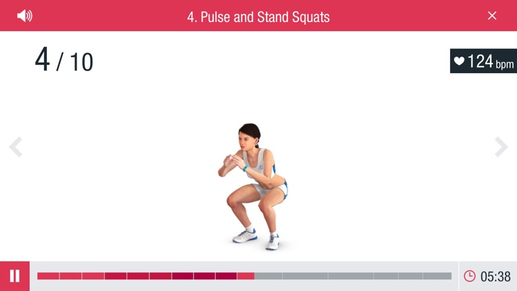 Runtastic Leg Trainer Workouts