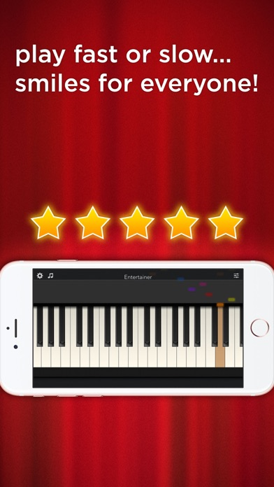 Screenshots of Tiny Piano - Free Songs to Play and Learn! for iPhone