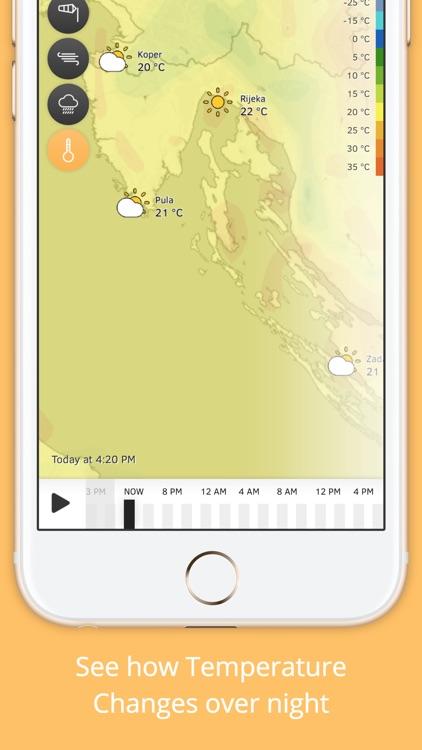 Windria - Adriatic (ALADIN wind forecast) screenshot-3