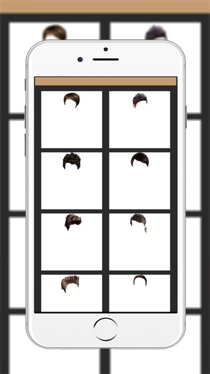 Man Hairstyle Photo Montage : screenshot-3