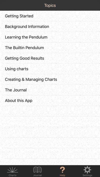 Pendulum Charts Pro screenshot-3