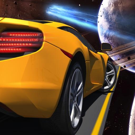 Star Extreme Galaxy Stunt Car Wars Games iOS App