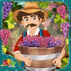 Grapes Farming – Crazy little farmer's farm story game for kids icon