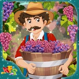 Grapes Farming – Crazy little farmer's farm story game for kids