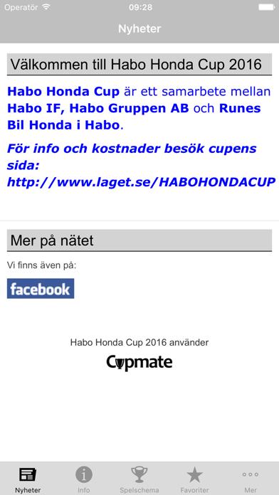 点击获取Habo Honda Cup