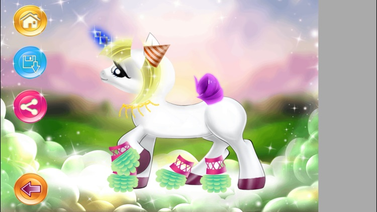 Pony Dressup Game. Bess Pony Makeover Game for Girls. screenshot-3