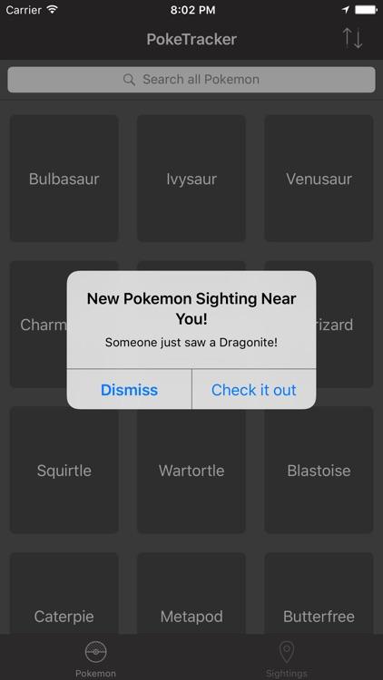 PokeTracker for Pokemon GO screenshot-3