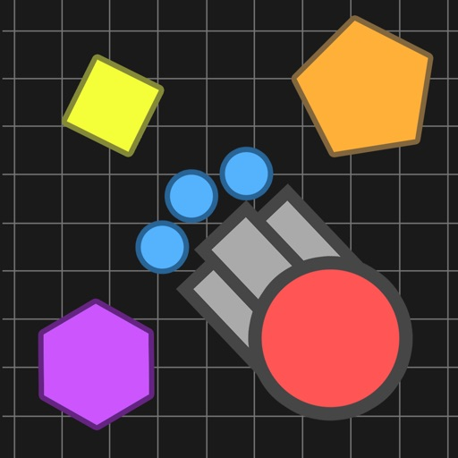 Tank.Io Diep War - Tanks Battle Avoid Other Tanks