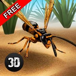 Wasp Life Simulator 3D