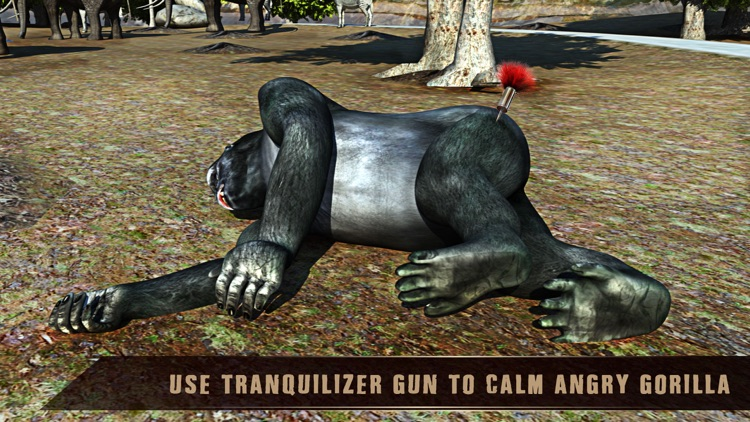 Wild African Animal Rescue Simulator: An Off-Road Transport Truck Game screenshot-4