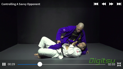 Digitsu – BJJ Brazilian Jiu-Jitsu Video Library Screenshot