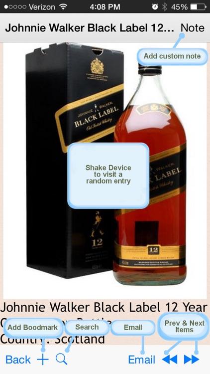 700 Popular Whiskies screenshot-3