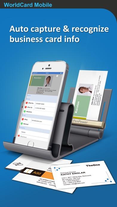 Screenshot for WorldCard Mobile in Austria App Store