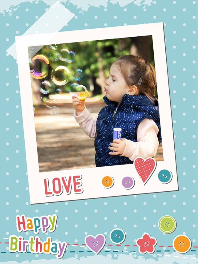 Happy Birthday Photo Frames Create Greeting Cards Collages And Edit Your Images 4