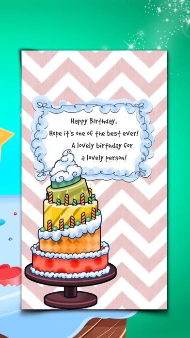 Virtuelle Geburtstag Kartenhersteller - Alles Gute Zum Jubiläum mit Bunten Hintergrund und TextScreenshot von 2