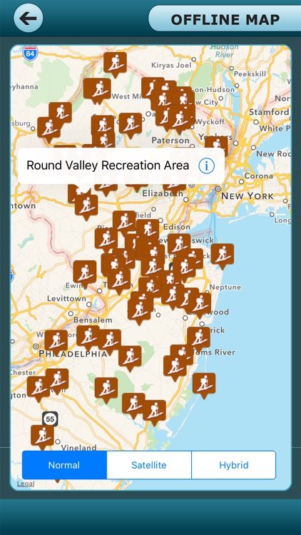 New Jersey Recreation Trails Guide