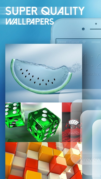 Amazing 3D Live Wallpapers & HD Backgrounds - 3D Images & Live Photos for Lock Screen Themes