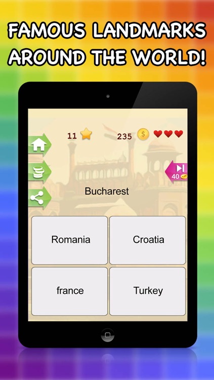 All Countries Capital - City Quiz Trivia Game