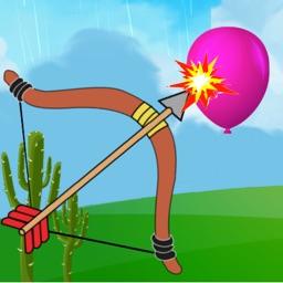 Bow & Arrow Bird & Balloon Hunter : Shoot Apple & Rescue Hangman