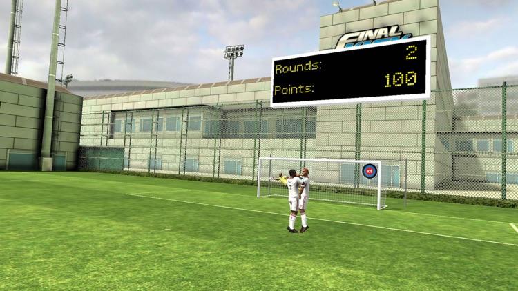 Final Kick VR - Virtual Reality free soccer game for Google Cardboard screenshot-3