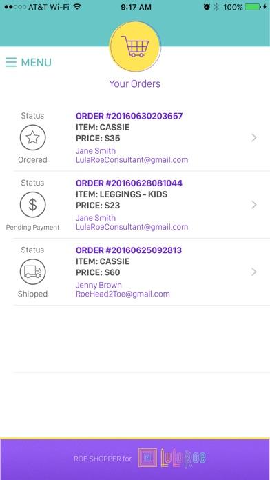 Roe Shopper app image