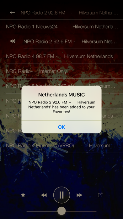 Netherlands Music Radio ONLINE screenshot three