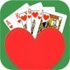 Hearts Solitaire - Classic Cards Patience Poker Games - iPhoneアプリ