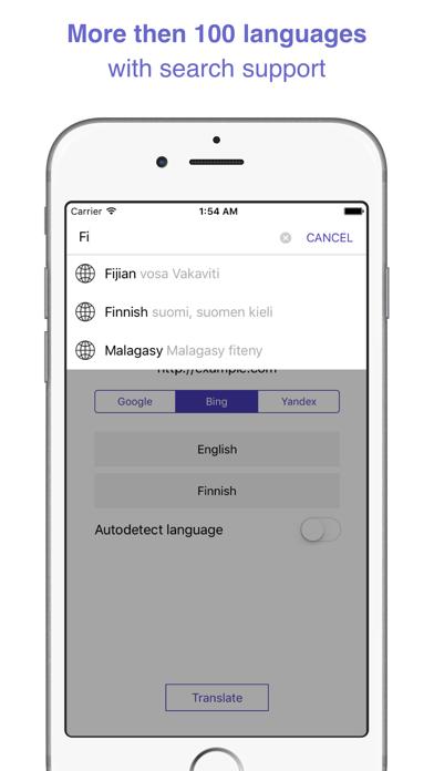 ReTranslator - translating web pages and extension for Safariのおすすめ画像3